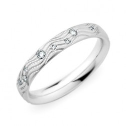 245419 Christian Bauer Platinum Diamond  Wedding Ring / Band