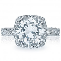 Tacori HT2607RD10 18 Karat RoyalT Engagement Ring