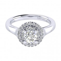 Gabriel 14 Karat Perfect Match Engagement Ring ER009B3AIW44JJ