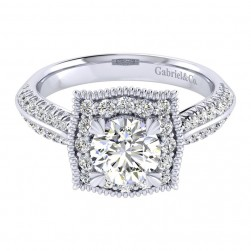 Gabriel 14 Karat Perfect Match Engagement Ring ER002B4AAW44JJ