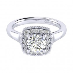 Gabriel 14 Karat Perfect Match Engagement Ring ER009B4ABW44JJ
