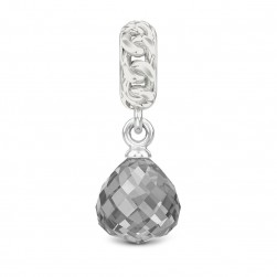 Endless Jewelry Jennifer Lopez Silver Bracelet Collection Grey Chain Drop Silver Charm 3181-2