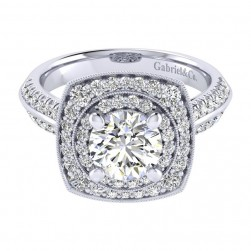 Gabriel 14 Karat Perfect Match Engagement Ring ER002C6AFW44JJ