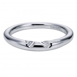 Gabriel Platinum Contemporary Wedding Band WB5916PTJJJ