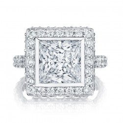 HT2614PR9 Platinum Tacori RoyalT Engagement Ring