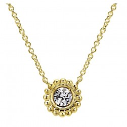 Gabriel Fashion 14 Karat Bombay Necklace NK4766Y45JJ