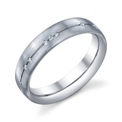 246588 Christian Bauer Platinum Diamond  Wedding Ring / Band