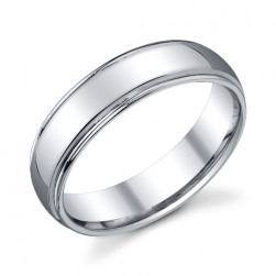 273400 Christian Bauer Platinum Wedding Ring / Band