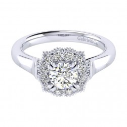 Gabriel 14 Karat Perfect Match Engagement Ring ER009B3ACW44JJ