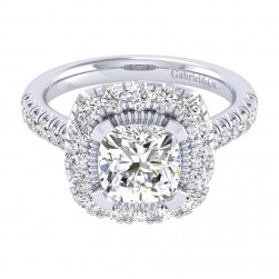Gabriel 14 Karat Perfect Match Engagement Ring ER039C8AJW44JJ