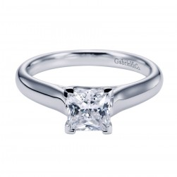 Gabriel Platinum Contemporary Engagement Ring ER6605PTJJJ
