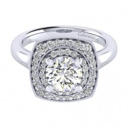 Gabriel 14 Karat Perfect Match Engagement Ring ER009C6AFW44JJ