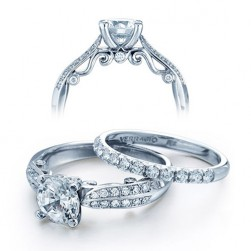 Verragio Platinum Insignia Engagement Ring INS-7023