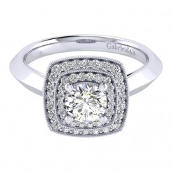 Gabriel 14 Karat Perfect Match Engagement Ring ER001B3AGW44JJ