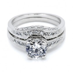 Tacori BA4190W 18 Karat Wedding Band