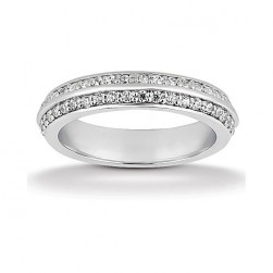 Eternity Diamond Band 14 Karat Taryn Collection TQD 6-1-844