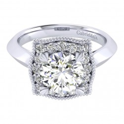 Gabriel 14 Karat Perfect Match Engagement Ring ER001C8AAW44JJ