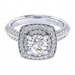 Gabriel 14 Karat Perfect Match Engagement Ring ER002B4AFW44JJ