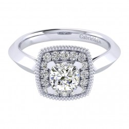 Gabriel 14 Karat Perfect Match Engagement Ring ER001B4AKW44JJ