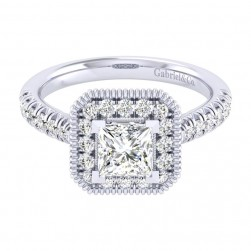 Gabriel 14 Karat Perfect Match Engagement Ring ER039B4ALW44JJ