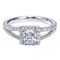 Gabriel 14 Karat Contemporary Engagement Ring ER94302W44JJ