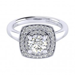 Gabriel 14 Karat Perfect Match Engagement Ring ER009B4AFW44JJ