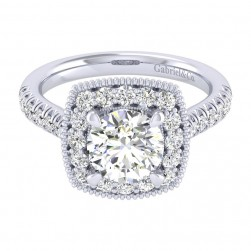 Gabriel 14 Karat Perfect Match Engagement Ring ER039C6ABW44JJ