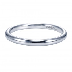 Gabriel Platinum Contemporary Wedding Band WB7490PTJJJ