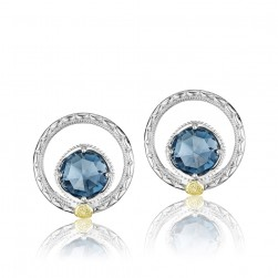 SE14033 Tacori 18k925 Island Rains Earrings