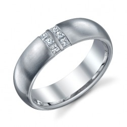 244634 Christian Bauer Platinum Diamond  Wedding Ring / Band