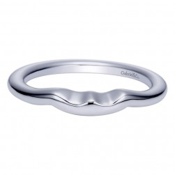 Gabriel 14 Karat Contemporary Wedding Band WB5993W4JJJ