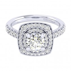 Gabriel 14 Karat Perfect Match Engagement Ring ER039B4AFW44JJ