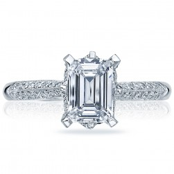 Tacori 2504EMP7X5 18 Karat Simply Tacori Engagement Ring