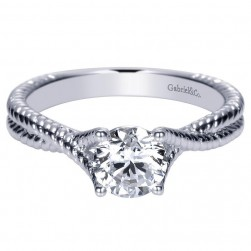 Gabriel 14 Karat Contemporary Engagement Ring ER8843W44JJ