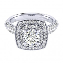Gabriel 14 Karat Perfect Match Engagement Ring ER002B4AGW44JJ