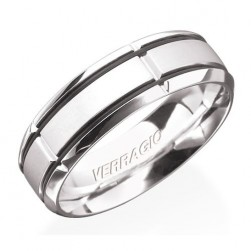 Verragio Platinum In-Gauge Wedding Band RU-7004