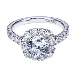 Gabriel 14 Karat Contemporary Engagement Ring ER7480W44JJ