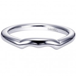 Gabriel Platinum Contemporary Wedding Band WB5994PTJJJ