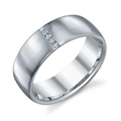 244555 Christian Bauer Platinum Diamond  Wedding Ring / Band