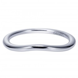 Gabriel 14 Karat Contemporary Wedding Band WB9004W4JJJ