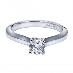 Gabriel Platinum Contemporary Engagement Ring ER6610PTJJJ