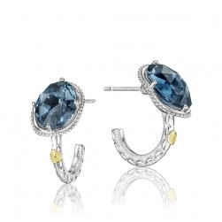 SE15133 Tacori 18k925 Island Rains Earrings