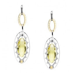 SE107Y07 Tacori Color Medley Gem Link Earrings