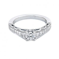 Tacori 18 Karat Crescent Engagement Ring HT2510PR512X
