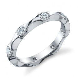 245331 Christian Bauer 18 Karat Diamond  Wedding Ring / Band