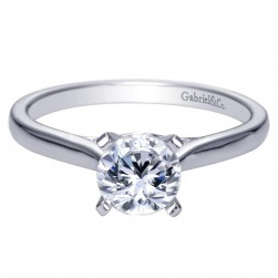 Gabriel 14 Karat Contemporary Engagement Ring ER8012W44JJ