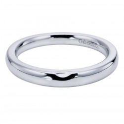 Gabriel 14 Karat Contemporary Wedding Band WB6065W4JJJ