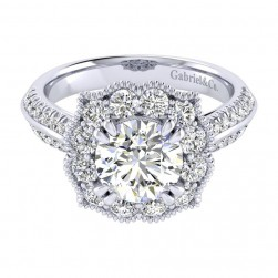 Gabriel 14 Karat Perfect Match Engagement Ring ER002C8ACW44JJ