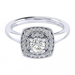 Gabriel 14 Karat Perfect Match Engagement Ring ER009A2AFW44JJ