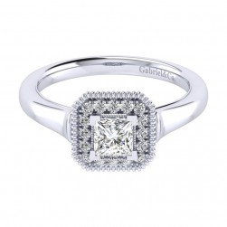 Gabriel 14 Karat Perfect Match Engagement Ring ER009A2ALW44JJ